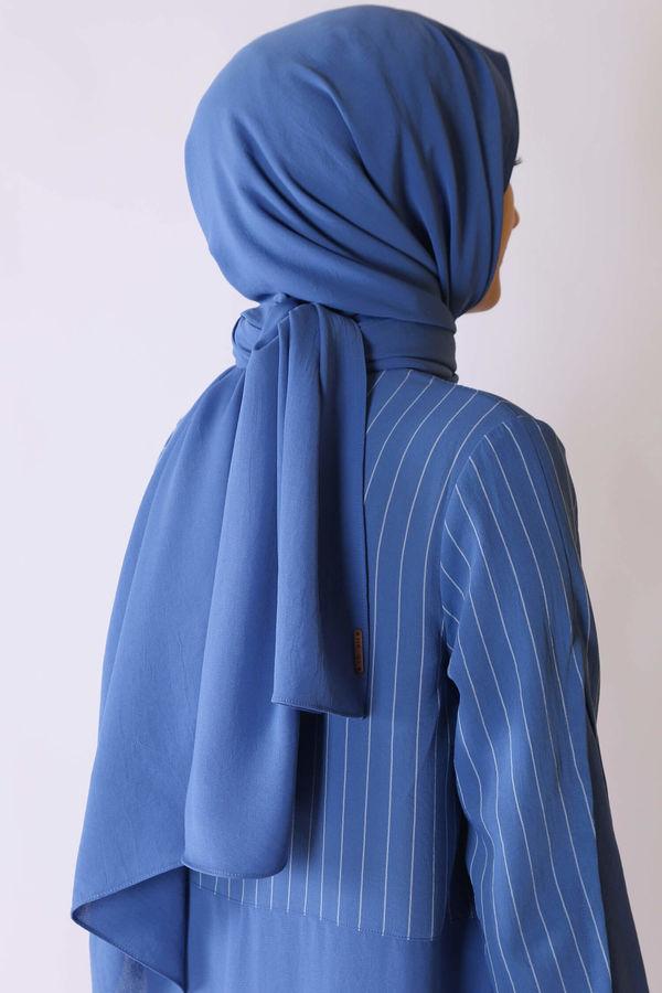 HE-QA - Bambu Şal Mavi