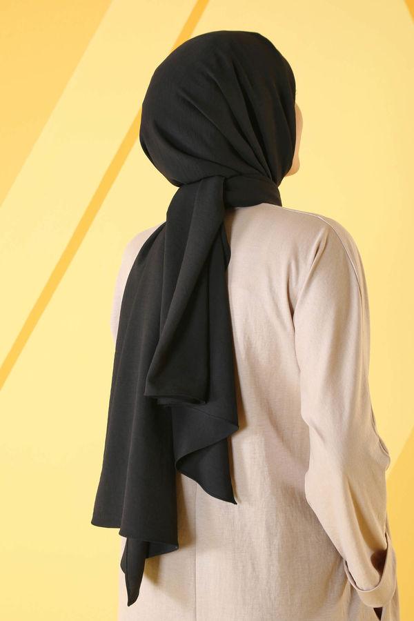 HE-QA - Bambu Şal Siyah
