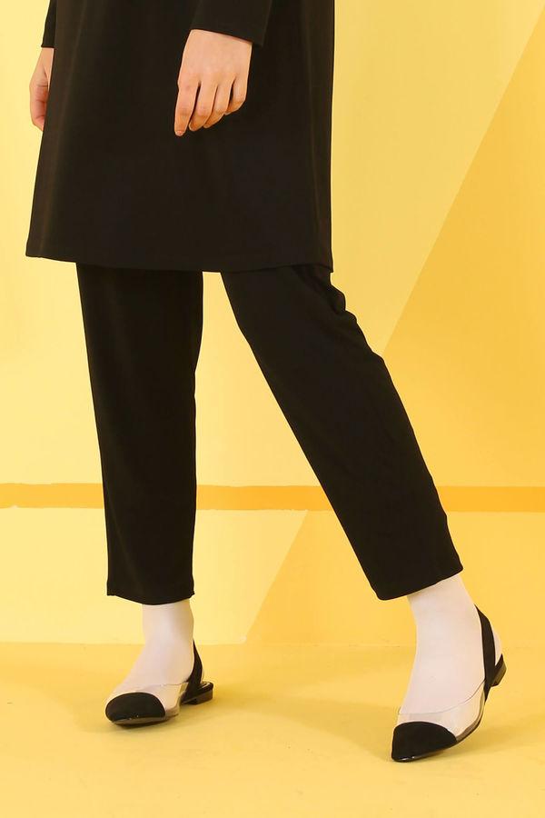 HE-QA - Basic Pantolon Siyah
