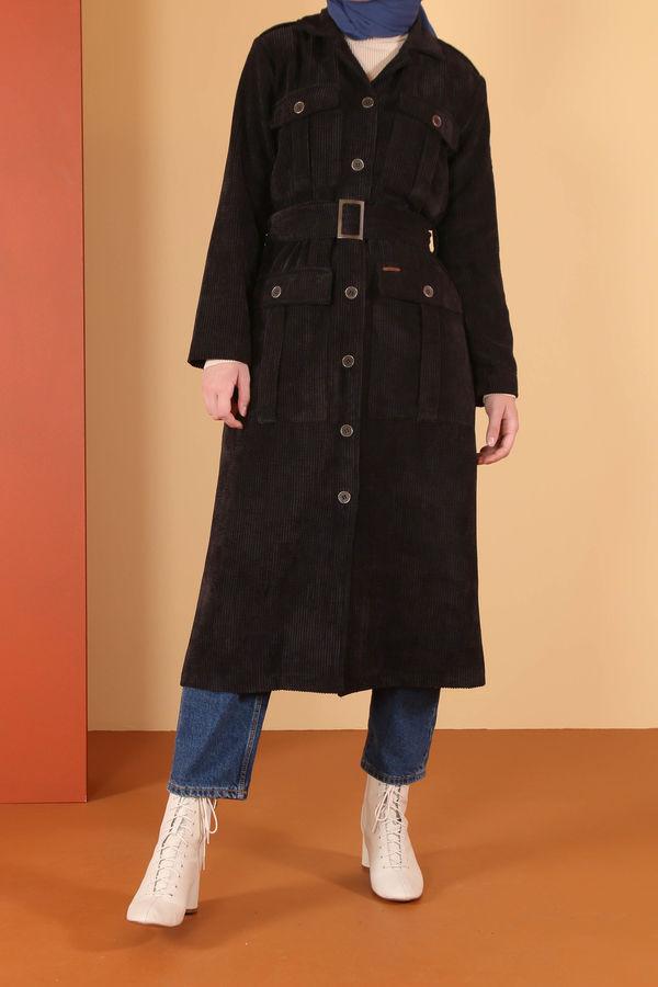 Kadife Ceket Siyah