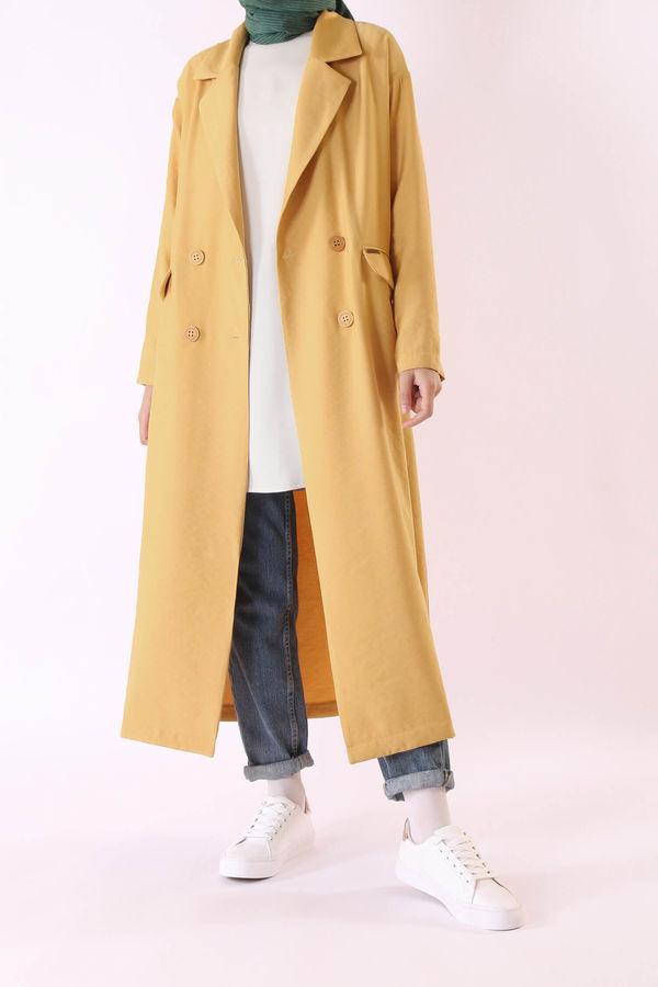 HE-QA - Sera Ceket Sarı