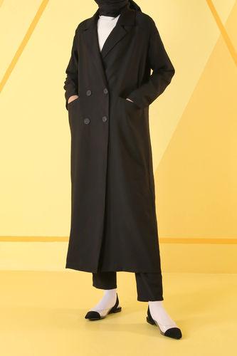 Sera Ceket Siyah - Thumbnail