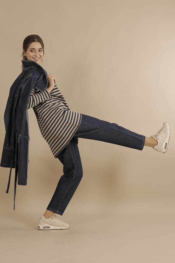HE-QA - Line Tshirt Kısa Lacivert (1)