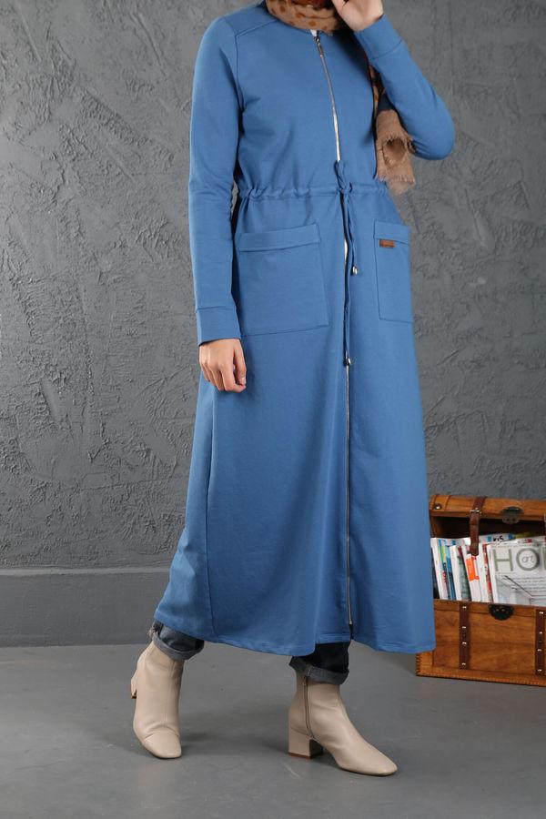 ESRA KESKİN DEMİR - Casual Tunik Mavi