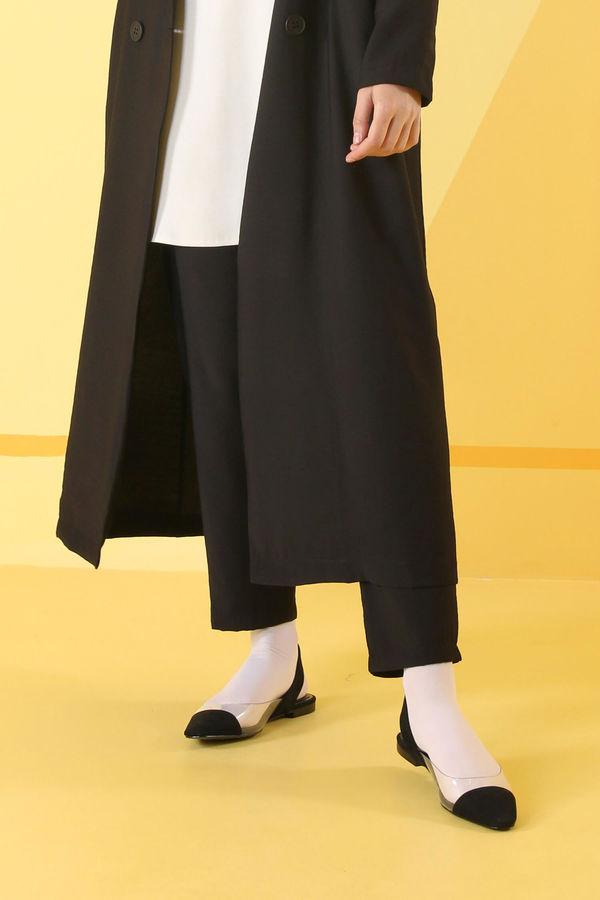 HE-QA - Sera Pantolon Siyah