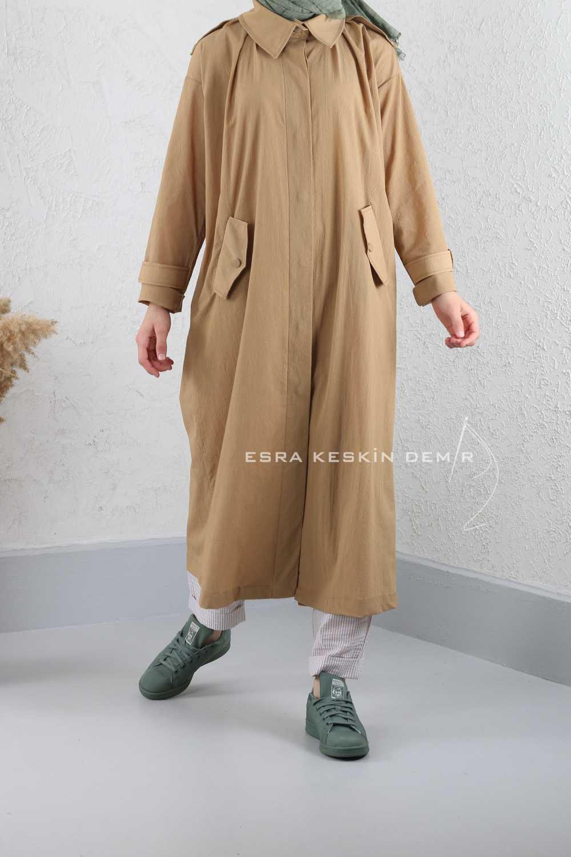 ESRA KESKİN DEMİR - Tuval Kap Camel