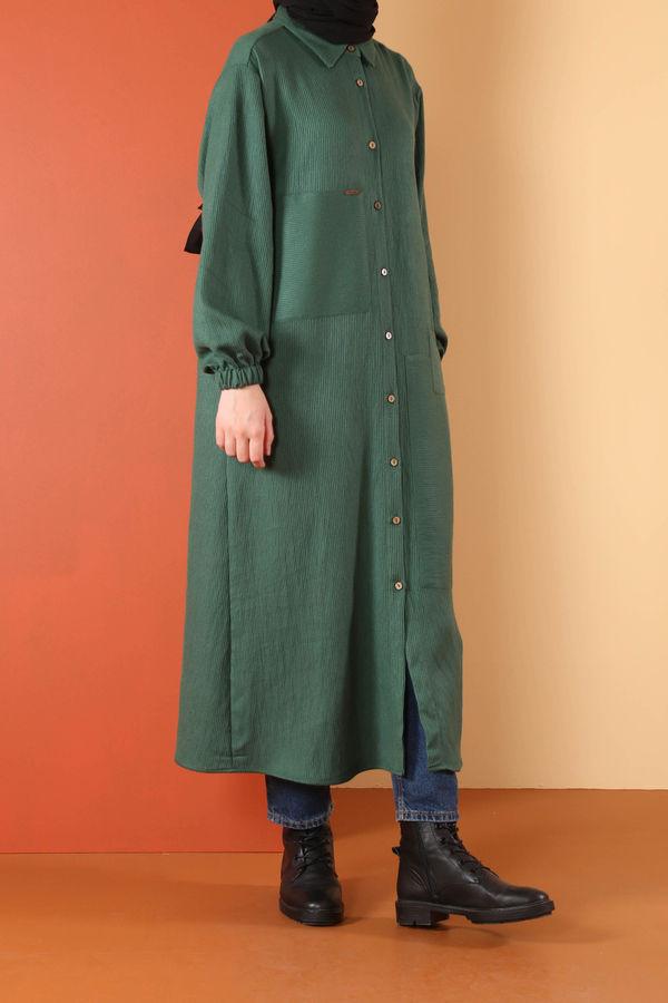 HE-QA - Yamalı Tunik Yeşil
